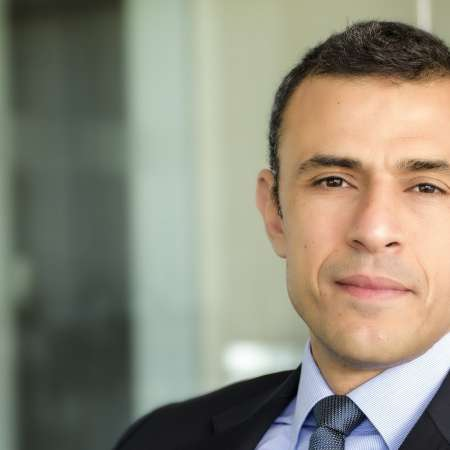 كريم عوض الرئيس التنفيذي لبنك الاستثمار المجموعة المالية هيرميس