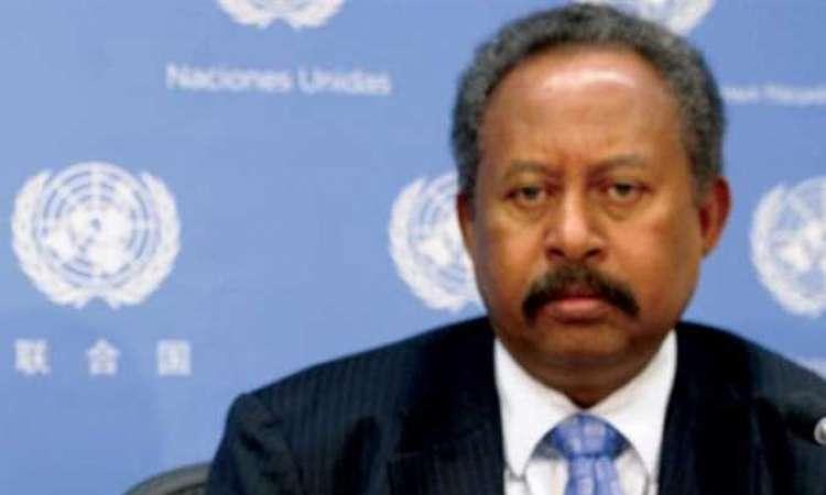 رئيس وزراء السودان عبد الله حمدوك